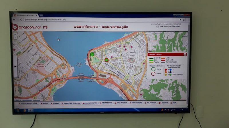 Sincronia de sinaleiras em tempo real já é realidade em Florianópolis- Divulgação/ND