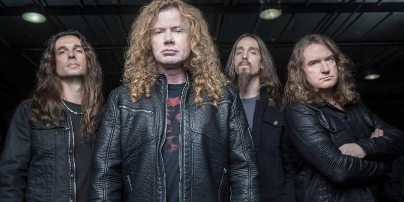 Banda Megadeth cancelou shows em 2019 – Divulgação/ND