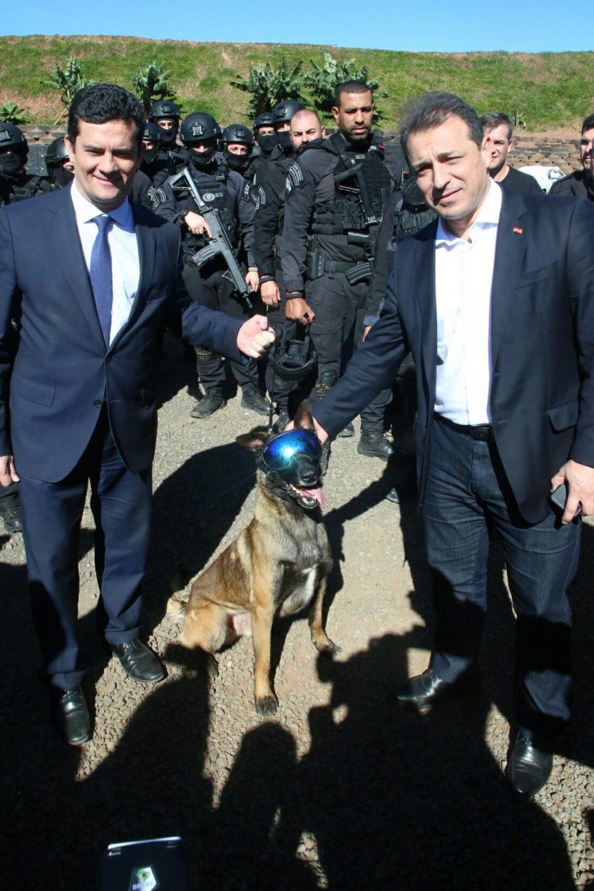 Sergio Moro e Carlos Moisés - ministro_da_justica_e_seguranca_publica_sergio_moro_em_chapeco_20190607_1097042488