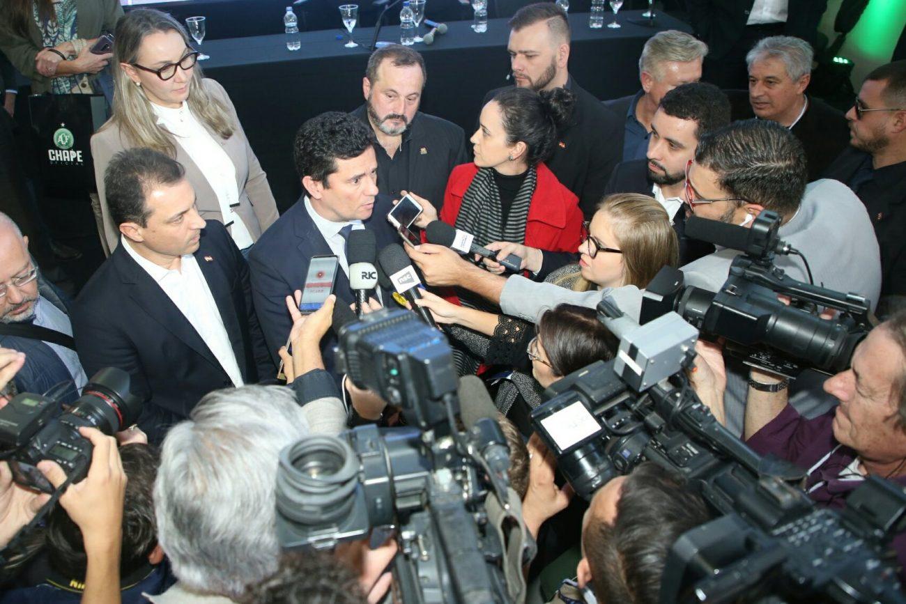 Entrevista de Sergio Moro - James Tavares/Secom/ND
