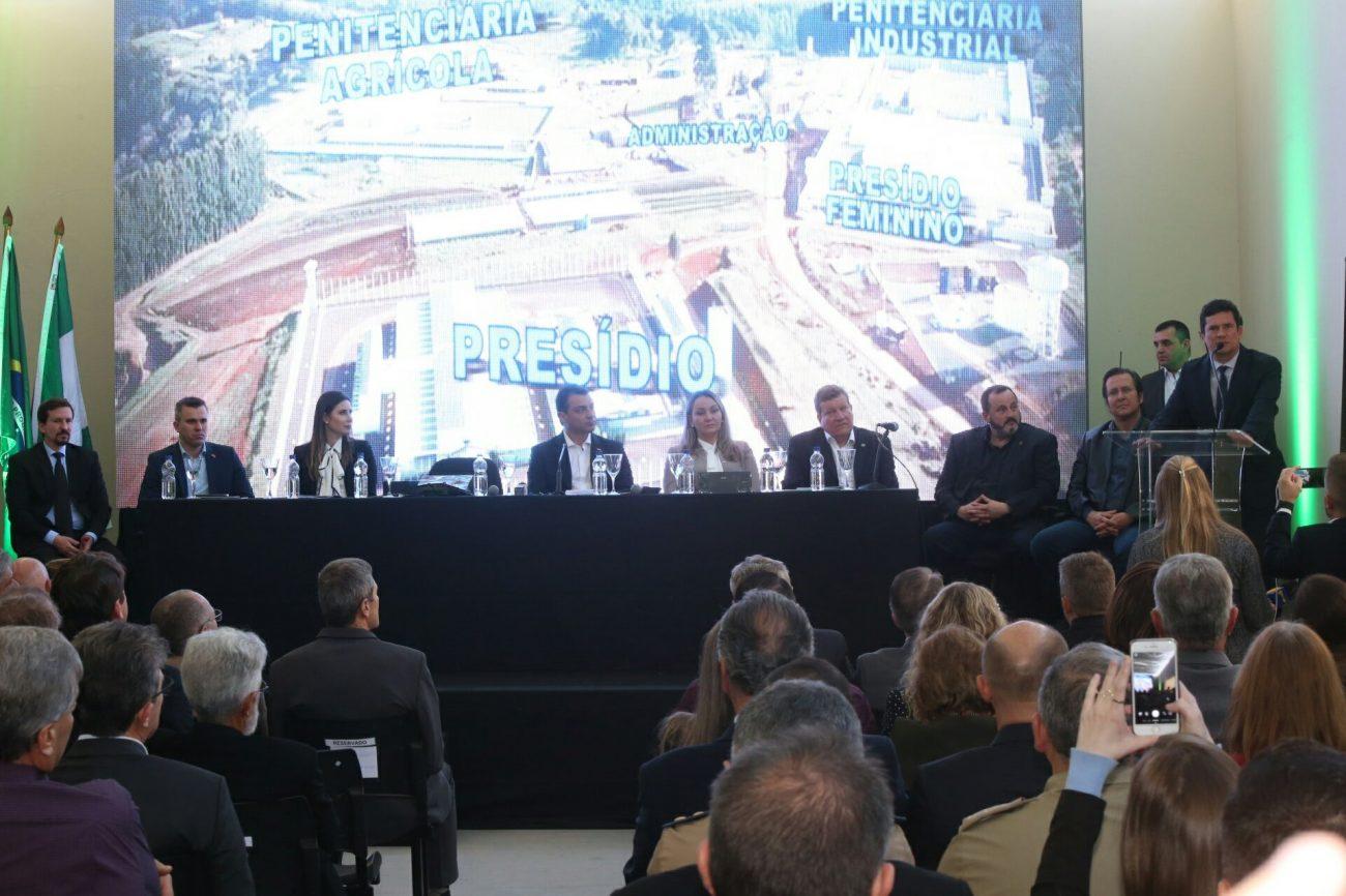 Sergio Moro discursa - James Tavares/Secom/ND