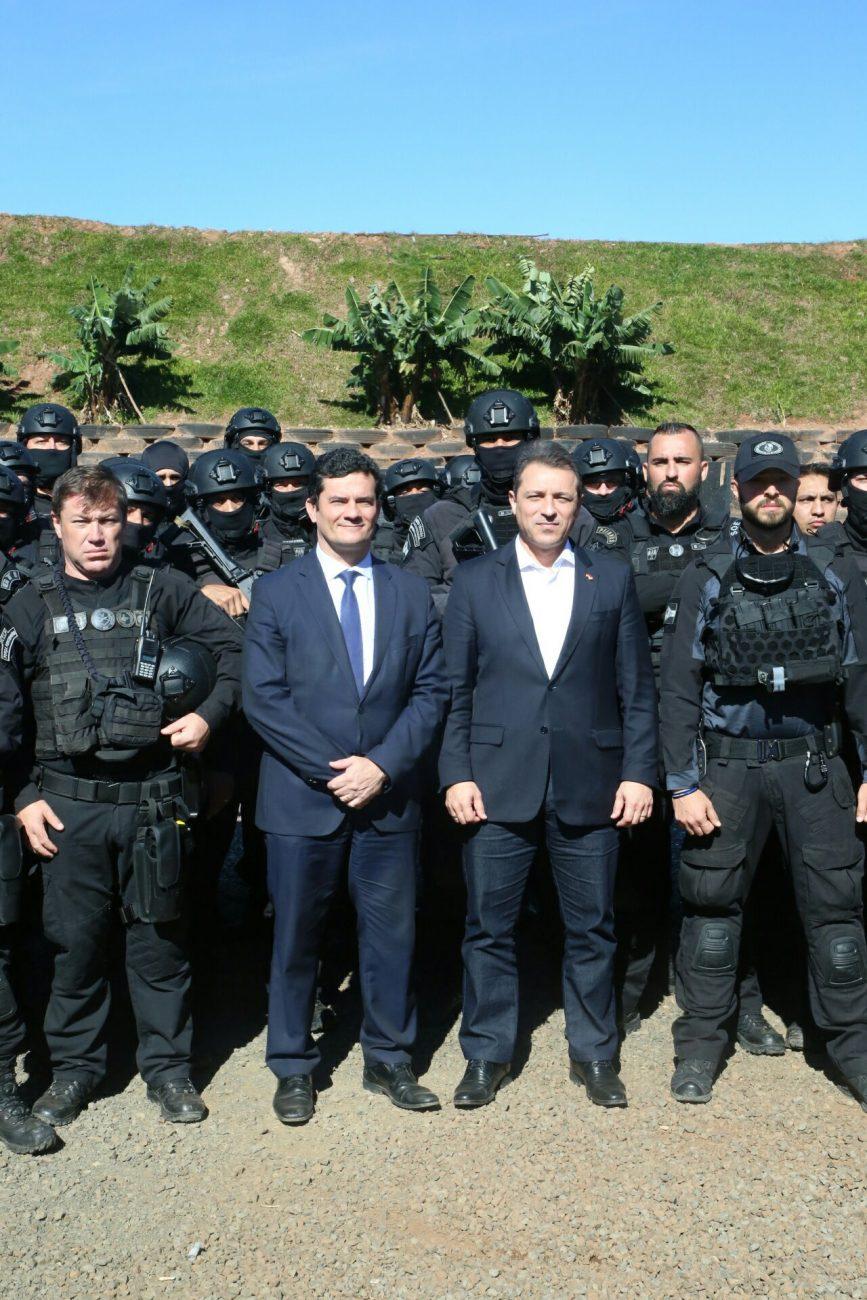 Autoridades em Chapecó - James Tavares/Secom/ND