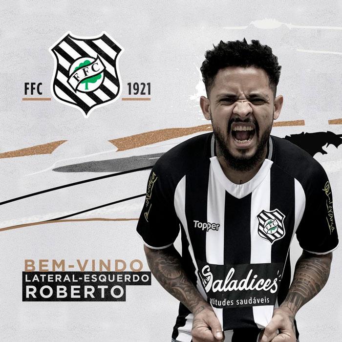 Figueirense contratou o lateral Roberto - Figueirense FC/divulgação