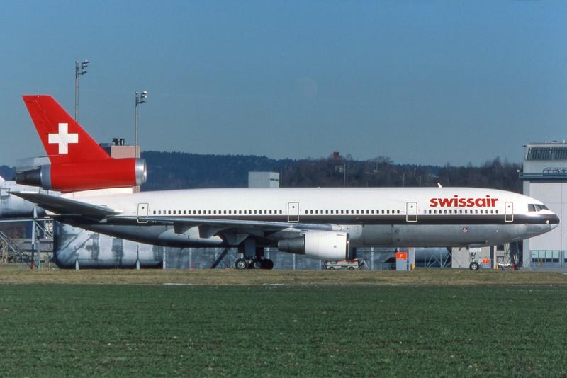 Swissair: fundada em 1931, ela foi sucedida pela Swiss atual, deixando de voar em 2001 após uma crise financeira - BrunoGeiger on VisualHunt.com / CC BY-NC - BrunoGeiger on VisualHunt.com / CC BY-NC /Garagem 360/ND