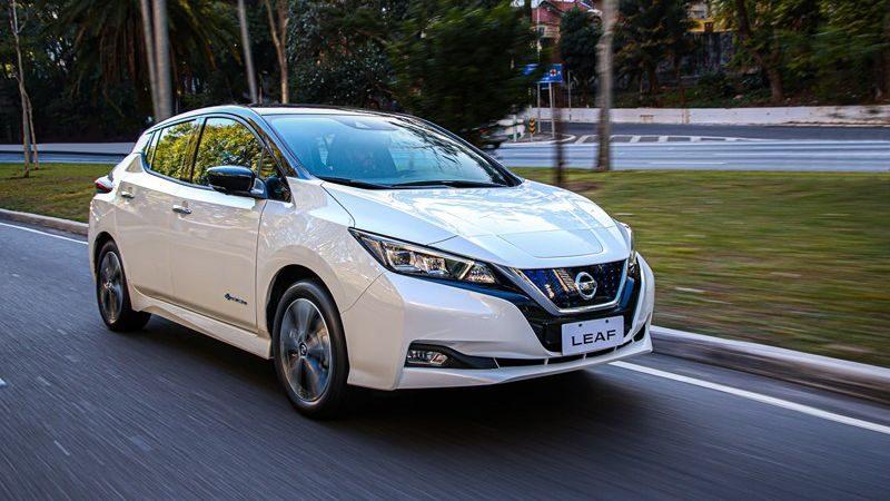 Nissan Leaf é lançado por R$ 195 mil no mercado brasileiro - Foto: Divulgação