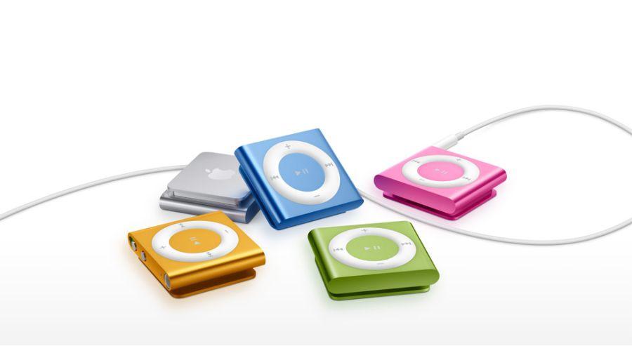 Em 2005 surgiram os primeiros iPod Shuffle, que inclusive foi testado pelo 33Giga. Atualmente o modelo segue em linha, e estão mais compactos, como os desta imagem. - Crédito: sucelloleiloes via Visual Hunt / CC BY-NC/33Giga/ND