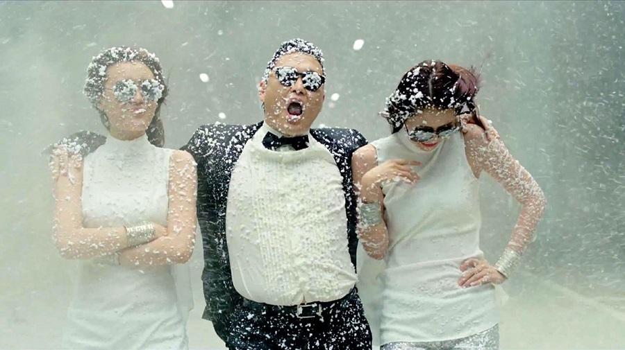 "6. Psy – Gangnam Style (<a href=""http://bit.ly/2TEOOgd"">http://bit.ly/2TEOOgd</a>): 3,3 bilhões de visualizações - Crédito: Reprodução YouTube/33Giga/ND"