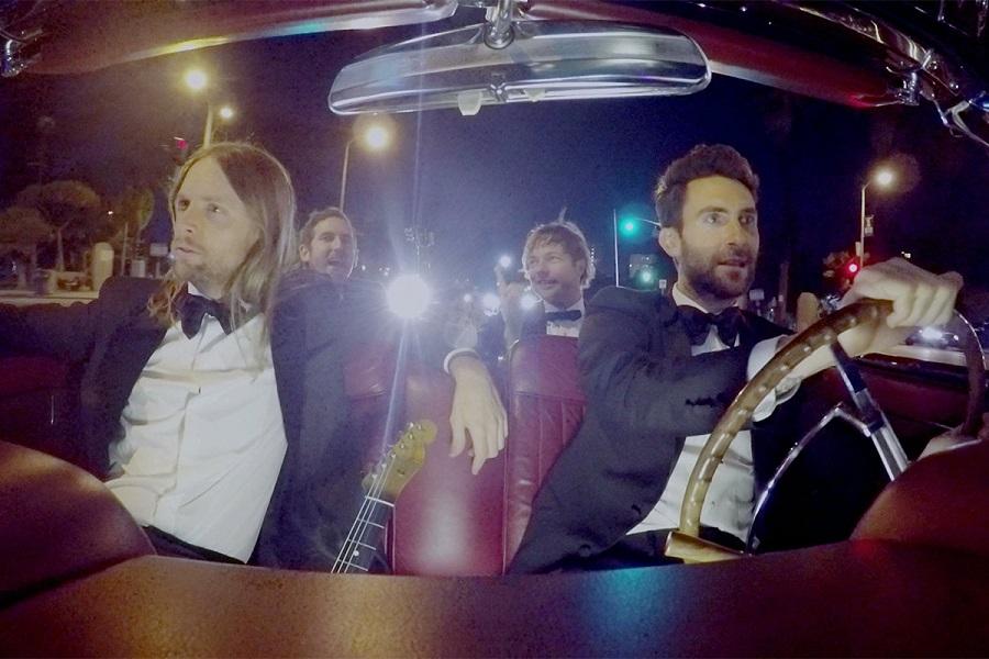 """8. Maroon 5 – Sugar (<a href=""""http://bit.ly/2SXPWXY"""">http://bit.ly/2SXPWXY</a>): 2,9 bilhões de visualizações - Crédito: Reprodução YouTube/33Giga/ND"""