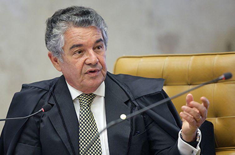 Em junho deste ano, Marco Aurélio negou uma liminar pedida pelo advogado – Foto: Nelson Jr./SCO/STF/ND