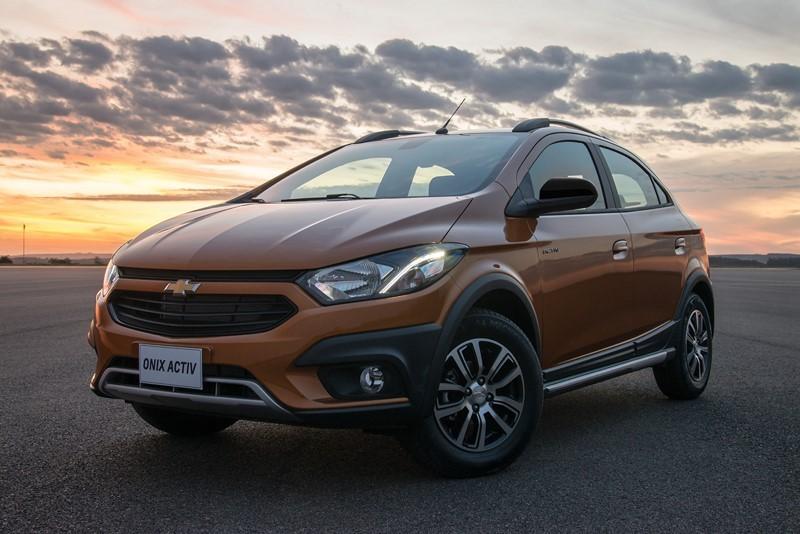 10- Chevrolet Onix: carros expostos: 211.448,29; sinistros: 1.657; índice de roubos/furtos: 0,784% - Foto: Divulgação - Foto: Divulgação/Garagem 360/ND