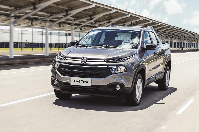 11º- Fiat Toro: 28.599 unidades - Foto: Divulgação - Foto: Divulgação/Garagem 360/ND