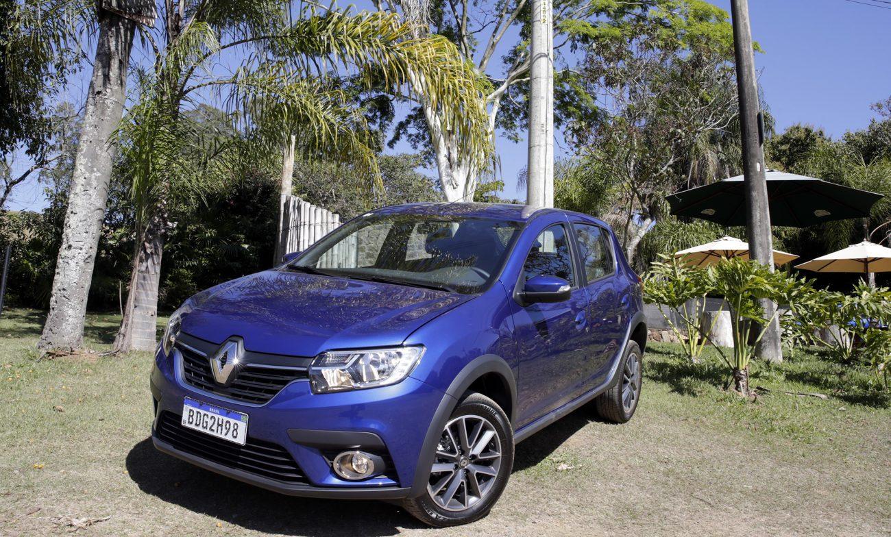 Preços do Renault Sandero, Logan e Stepway 2020 variam de R$ 46.990 a R$ 73.090 - Paulo Witacker/ND