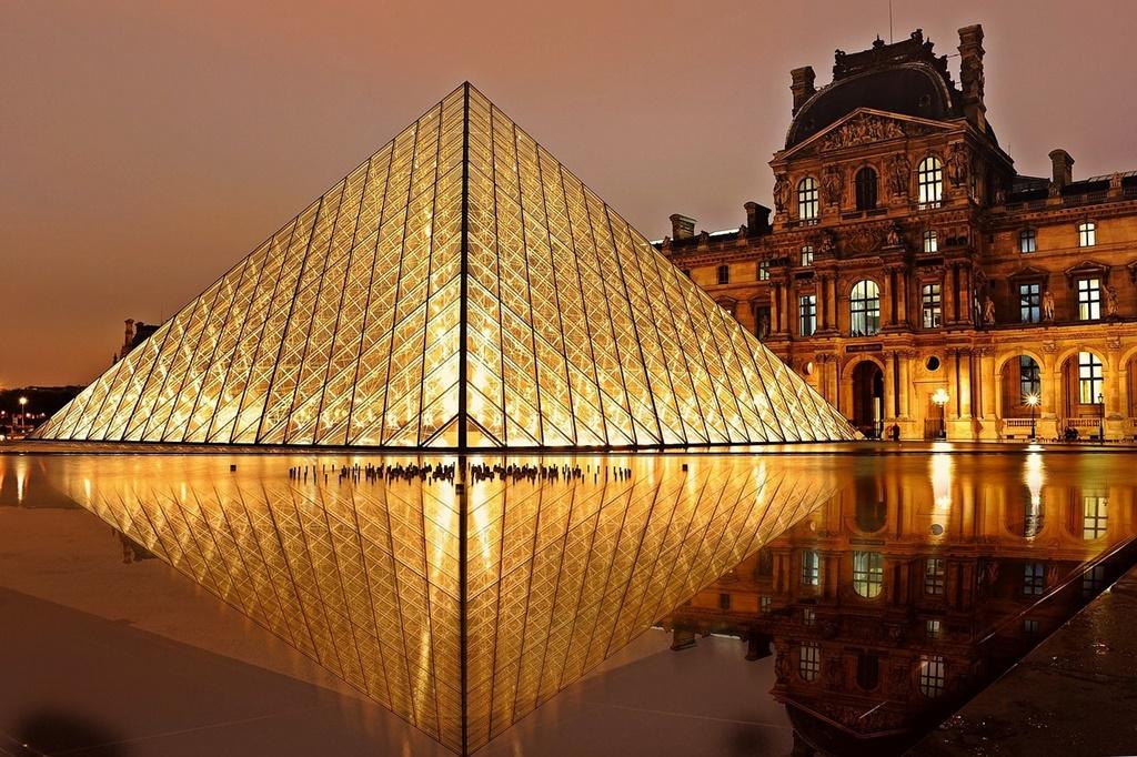 8- Museu do Louvre - Paris, França - Edi Nugraha por Pixabay - Edi Nugraha por Pixabay/Rota de Férias/ND