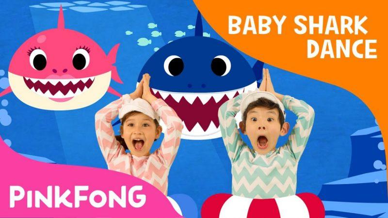 17. Pinkfong – Baby Shark Dance (http://bit.ly/2F58rGe): 2,45 bilhões de visualizações - Crédito: Reprodução YouTube/33Giga/ND