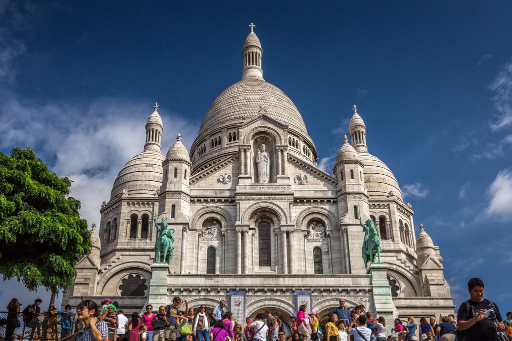 Basílica de Sacré Cœur, França - IceNineJon on Visualhunt / CC BY-NC-ND - IceNineJon on Visualhunt / CC BY-NC-ND/Rota de Férias/ND