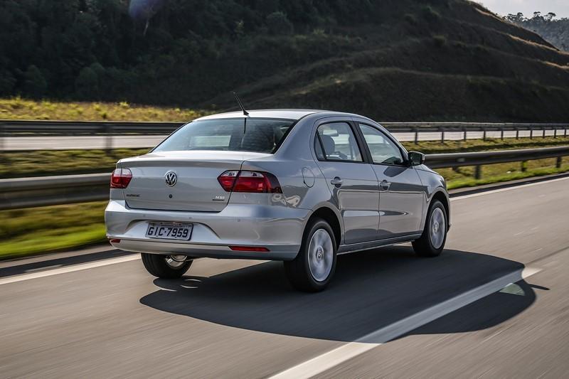 1- Volkswagen Voyage: carros expostos: 92.794,35; sinistros: 1.284; índice de roubos/furtos: 1,384% - Foto: Divulgação - Foto: Divulgação/Garagem 360/ND