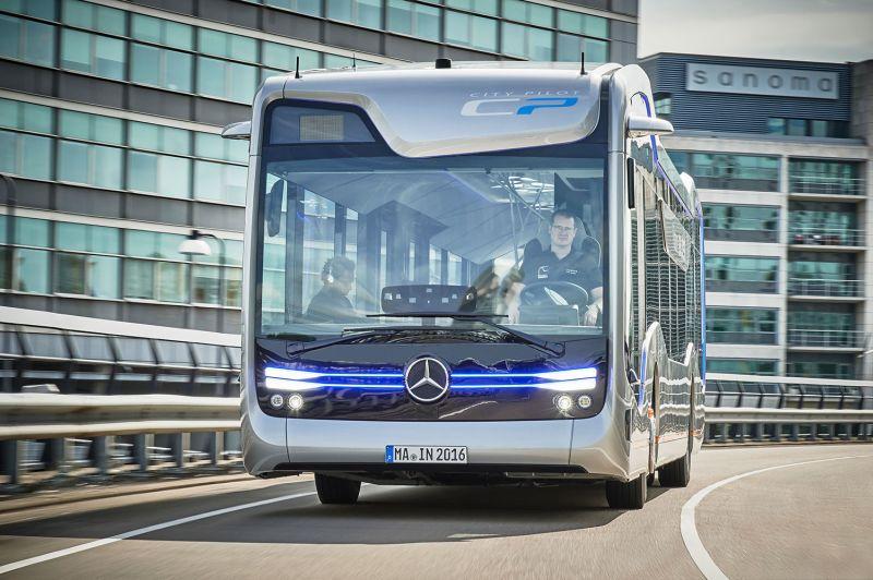 Mercedes-Benz Future Bus com tecnologia CityPilot promete levar a condução autônoma aos ônibus do futuro - Foto: Divulgação - Foto: Divulgação/Garagem 360/ND