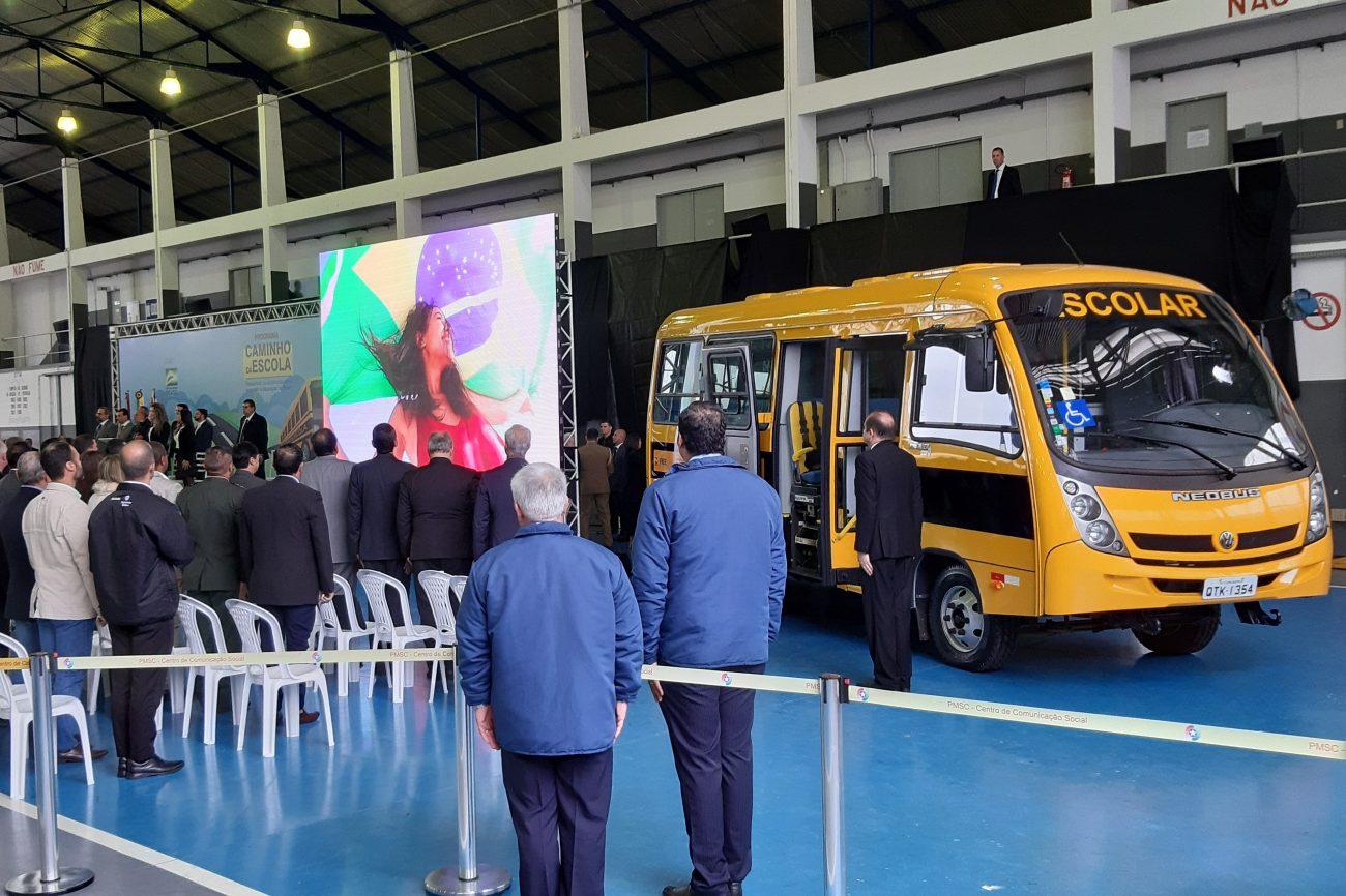 Abertura do evento teve a execução do Hino Nacional Brasileiro - Altair Magagnin/ND