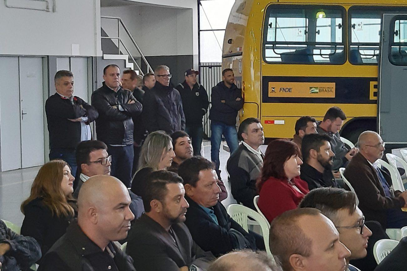 Ex-deputado federal João Rodrigues acompanha o evento - Altair Magagnin/ND