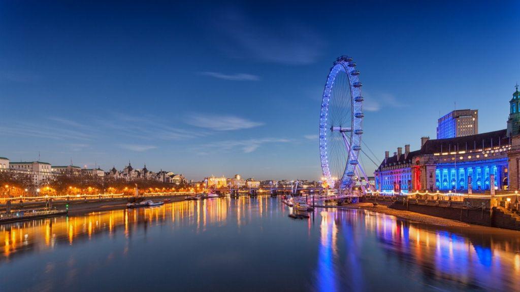 London Eye, Inglaterra - Visual hunt - Visual hunt/Rota de Férias/ND