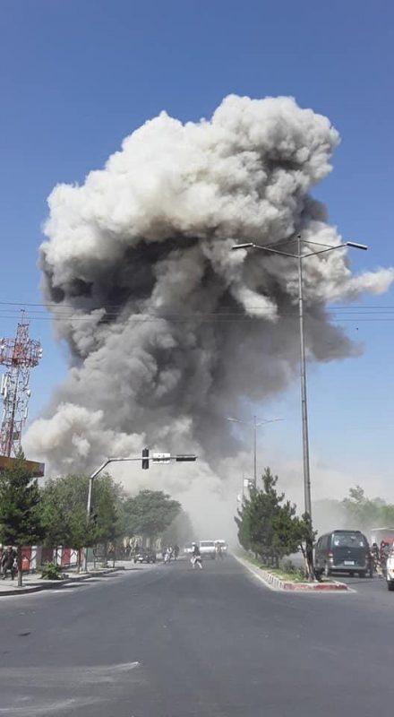 Ataque deixou pelo menos 65 feridos no centro de Cabul, no Afeganistão – Al Jazeera/Facebook/Divulgação/ND