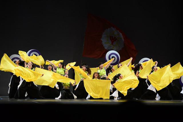 """""""Seimei No Saisei (Renascimento da Vida)"""", Grupo Saikyou de Yosakoi Soran da Acema - PR: 3º Lugar Danças Populares Internacionais Conjunto Sênior - Nilson Bastian / Festival de Dança / Divulgação"""