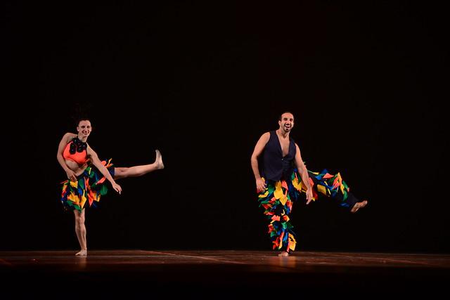 """""""Brasilizando"""", Tangará Cia de Dança: 2º Lugar Duo-Sênior Danças Populares Brasileiras - Nilson Bastian / Festival de Dança / Divulgação"""