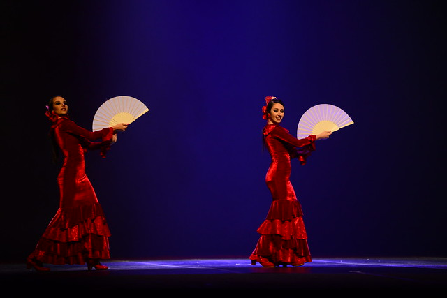 """""""Por Romeras"""", M.A. Studio de Dança: 2º Lugar Duo-Sênior Danças Populares Internacionais - Nilson Bastian / Festival de Dança / Divulgação"""