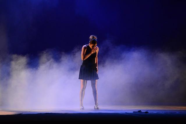 """""""Onde me encontro..."""", Grupo Corpo Livre: 2º Lugar Sapateado l Solo Feminino l Sênior - Nilson Bastian / Festival de Dança / Divulgação"""