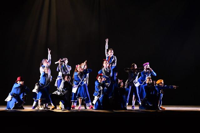 """""""Censura"""", Monique Paes Studio de Dança: 3º Lugar Sapateado l Conjunto l Júnior - Nilson Bastian / Festival de Dança / Divulgação"""