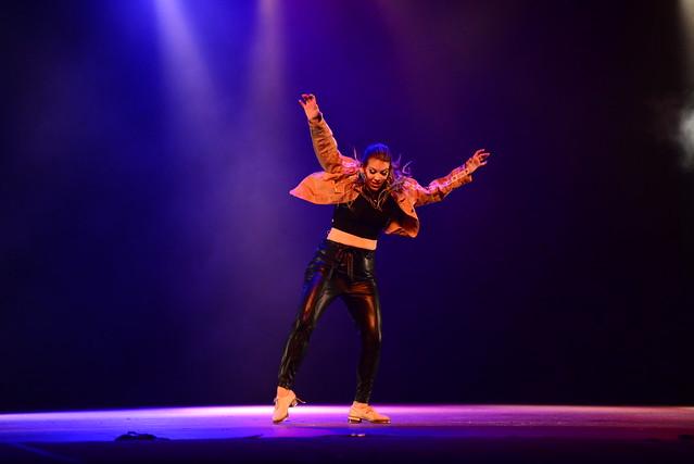 """""""Identidade"""", Grupo Jovem - Tereza Petsold: 2º Lugar Sapateado l Solo Feminino l Sênior - Nilson Bastian / Festival de Dança / Divulgação"""