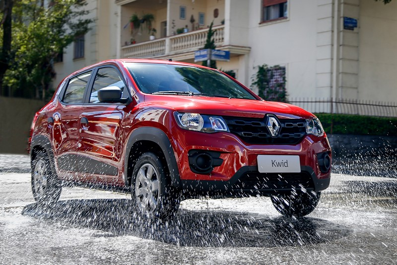 5º- Renault Kwid: 40.520 unidades - Foto: Divulgação - Foto: Divulgação/Garagem 360/ND