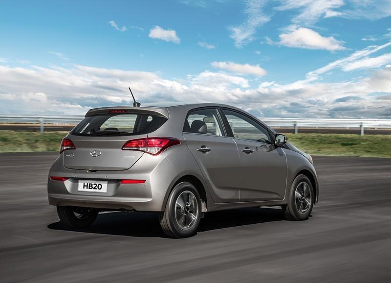 5- Hyundai HB20: carros expostos: 242.661,73; sinistros: 2.152; índice de roubos/furtos: 0,887% - Foto: Divulgação - Foto: Divulgação/Garagem 360/ND