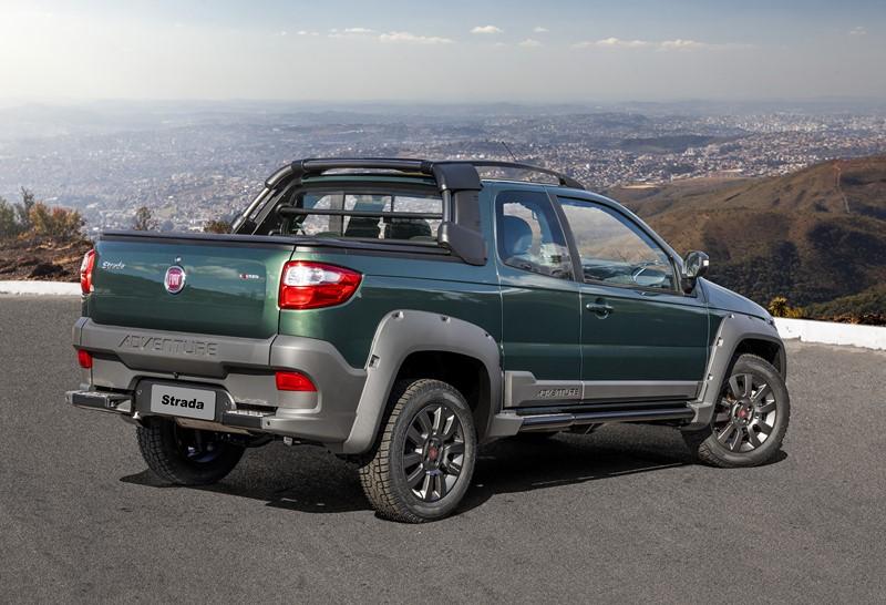 7º- Fiat Strada: 36.310 unidades - Foto: Divulgação - Foto: Divulgação/Garagem 360/ND