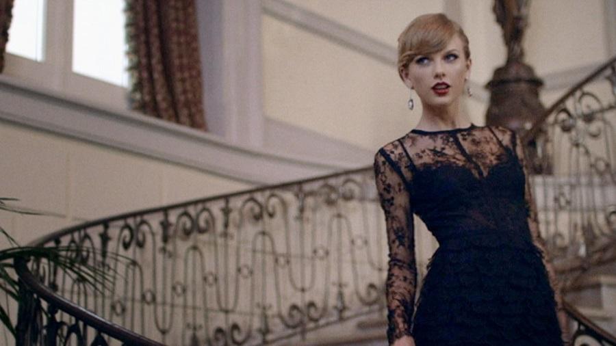 18. Taylor Swift – Blank Space (http://bit.ly/2TIW6PX): 2,41 bilhões de visualizações - Crédito: Reprodução YouTube/33Giga/ND