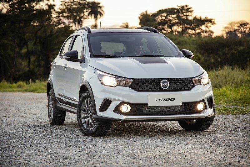 8º- Fiat Argo: 36.211 unidades - Foto: Divulgação - Foto: Divulgação/Garagem 360/ND