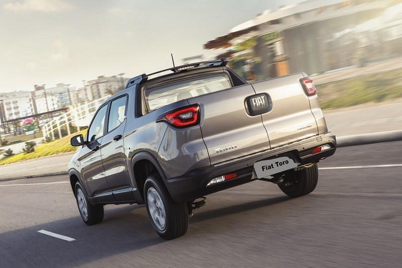 8- Fiat Toro: carros expostos: 36.309,77; sinistros: 292; índice de roubos/furtos: 0,804% - Foto: Divulgação - Foto: Divulgação/Garagem 360/ND