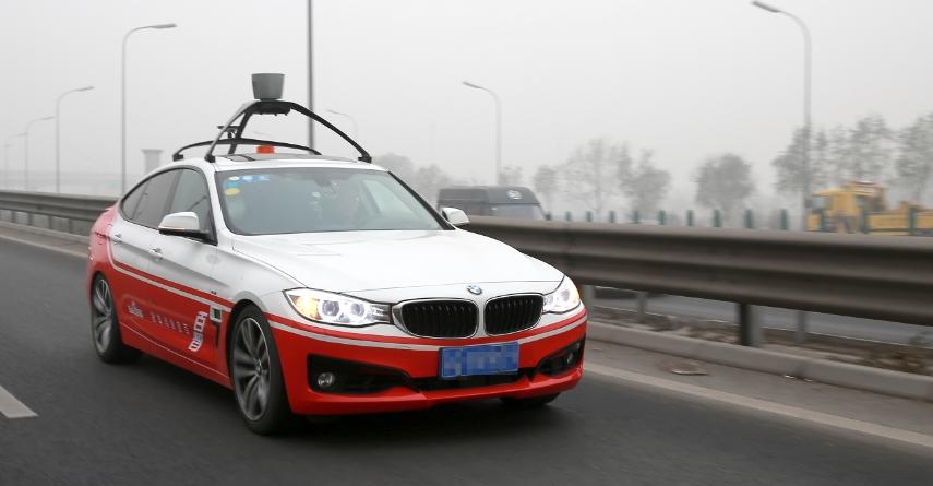 A Baidu, fabricante de produtos relacionados à informática e internet, tem avaliado um BMW Série 3 pelas ruas de Pequim, na China - Foto: Divulgação - Foto: Divulgação/Garagem 360/ND