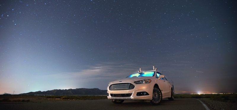 A Ford já realizou uma série de testes com um Fusion que dirige sozinho - Foto: Divulgação - Foto: Divulgação/Garagem 360/ND