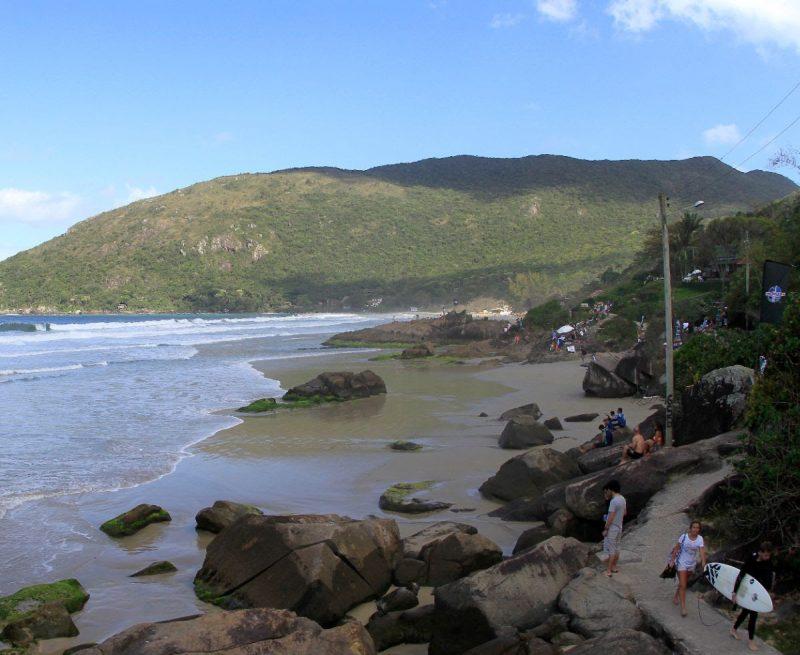 Praia do Matadeiro vai reunir surfistas, ondas e natureza neste fim de semana – Basílio Ruy/PP07/Fecasurf/Divulgação/ND