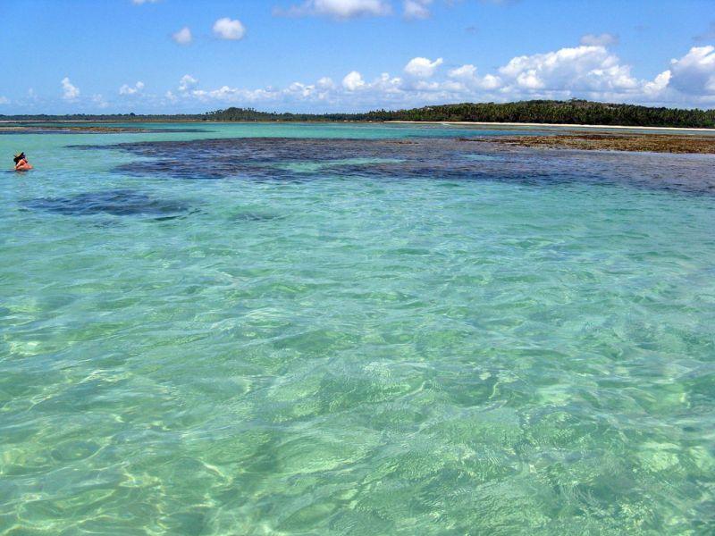 Moreré fica na Ilha de Boipeba, também na Bahia. Aqui, o tempo parece não passar por conta da água cristalina do mar - Nianin via Visual hunt / CC BY-NC-SA - Nianin via Visual hunt / CC BY-NC-SA/Rota de Férias/ND