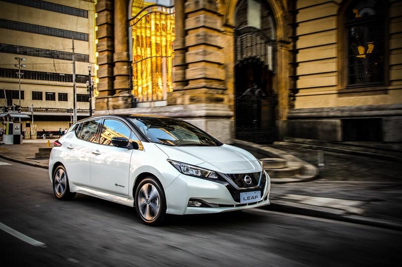 Nissan lança oficialmente o Leaf no Brasil - Foto: Divulgação - Foto: Divulgação/Garagem 360/ND