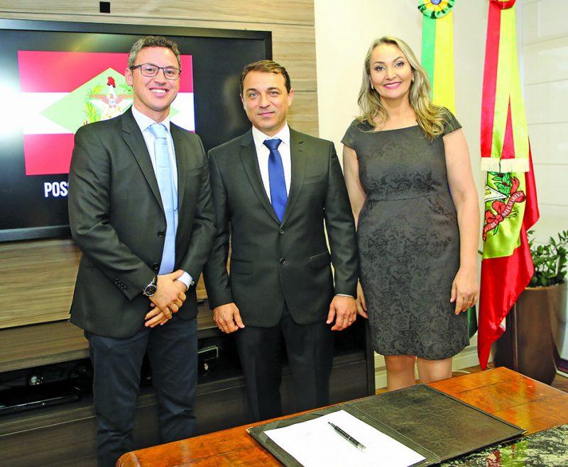 O dentista Lucas Esmeraldino foi escolhido por Moisés para ser secretário de Estado – Divulgação/Secom/ND