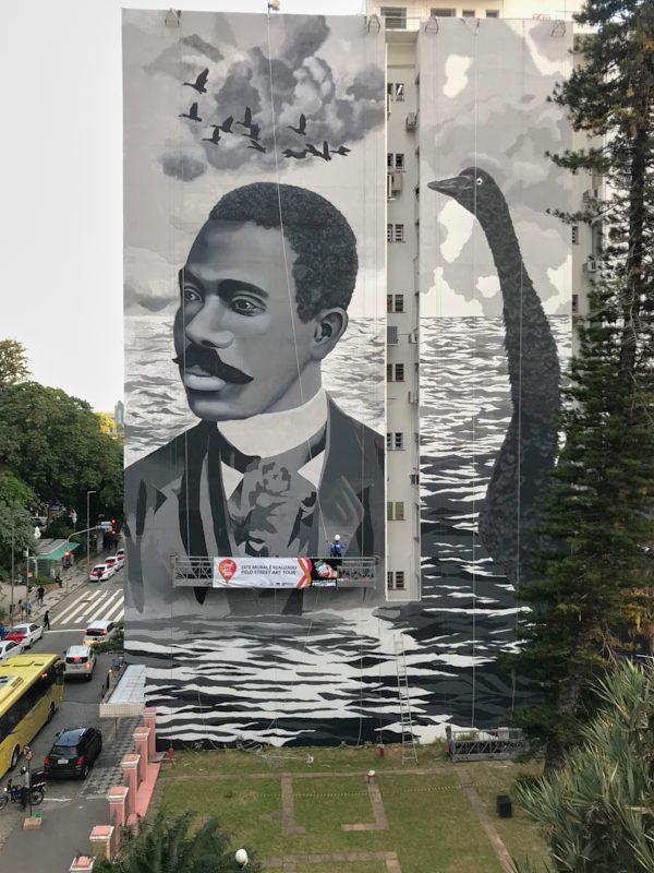 Mural ganha destaque na paisagem da região central – Victor Moraes/Divulgação/ND