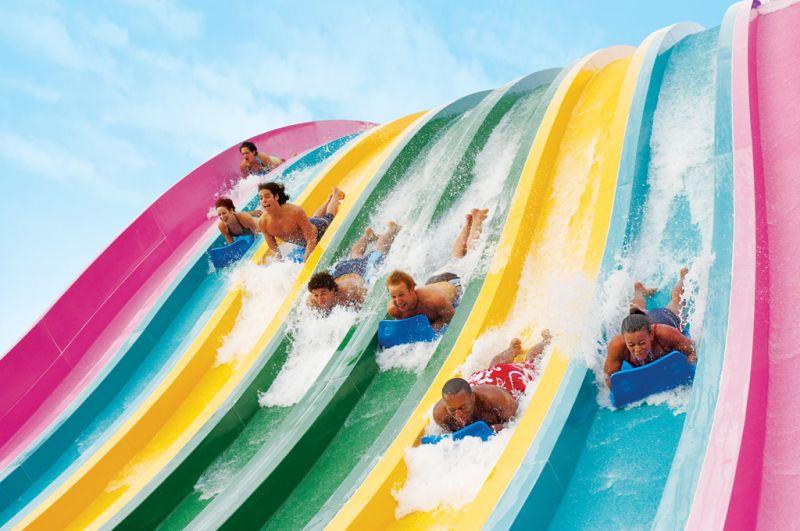 O parque aquático Aquatica pertence o grupo SeaWorld e é uma boa opção para curtir o calor do verão norte-americano. As atrações são um prato cheio para as crianças - Divulgação - Divulgação/Rota de Férias/ND