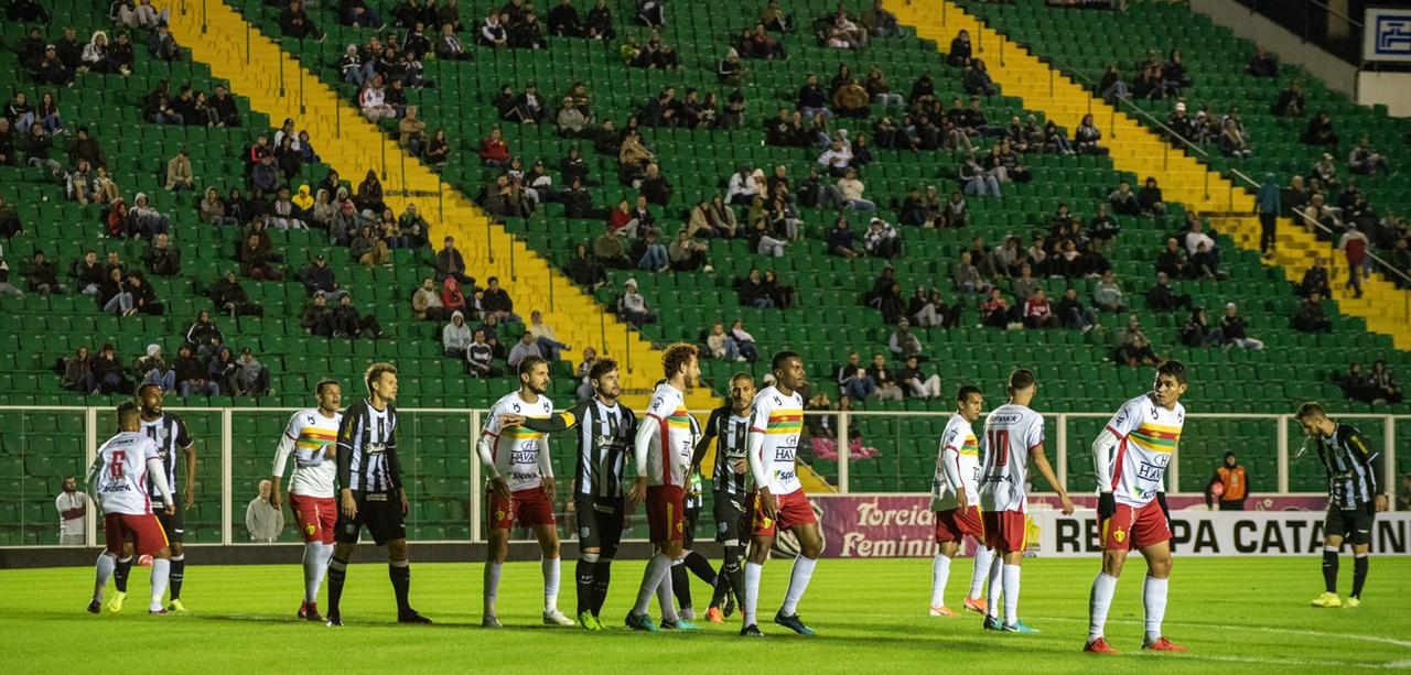 Figueirense x Brusque, pela Recopa Catarinense - Matheus Dias/FFC