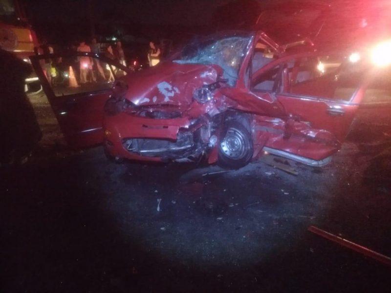 Acidente na BR-470 deixou dois mortos e cinco feridos – PRF/Divulgação/ND