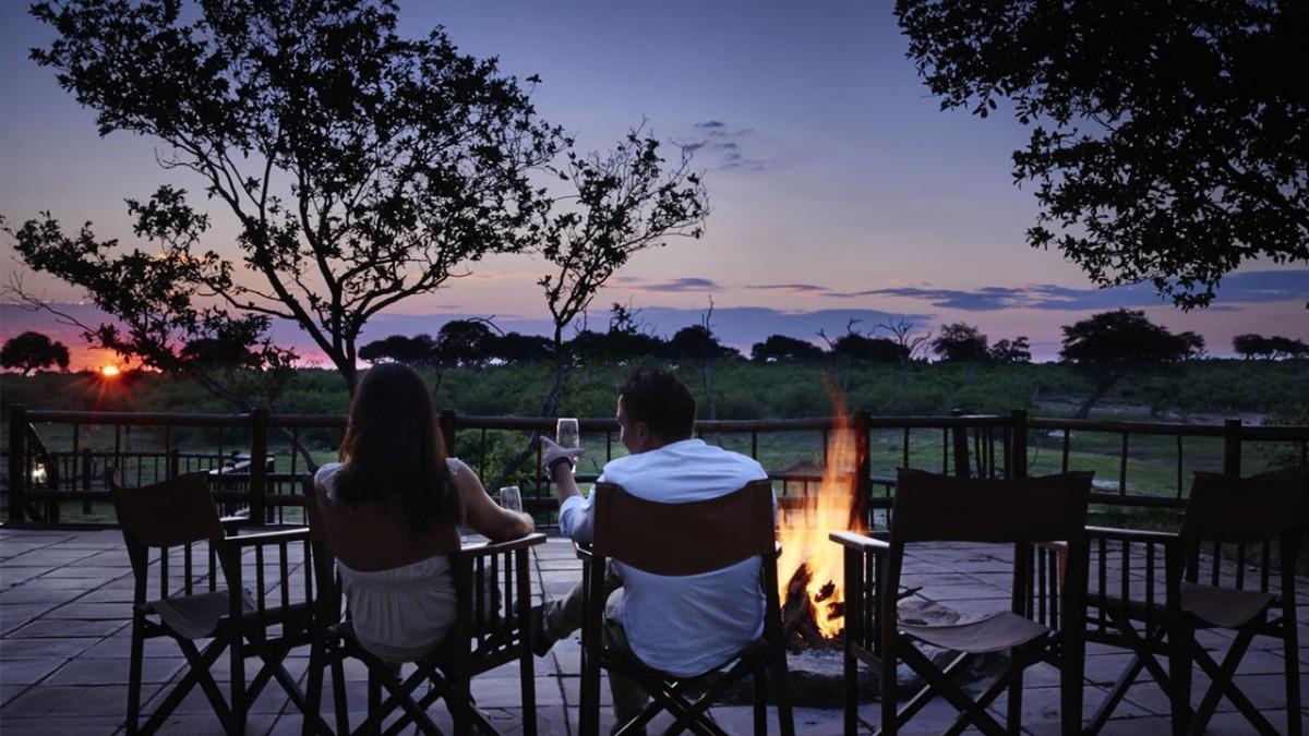 Cortado pelo Rio Chobe, o Parque Nacional do Chobe, em Botsuana, tem lodges confortáveis e conta com uma das maiores populações de elefantes do mundo - Divulgação - Divulgação/Rota de Férias/ND