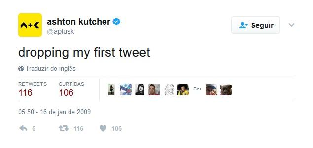 Ashton Kutcher – 16 de janeiro de 2009: