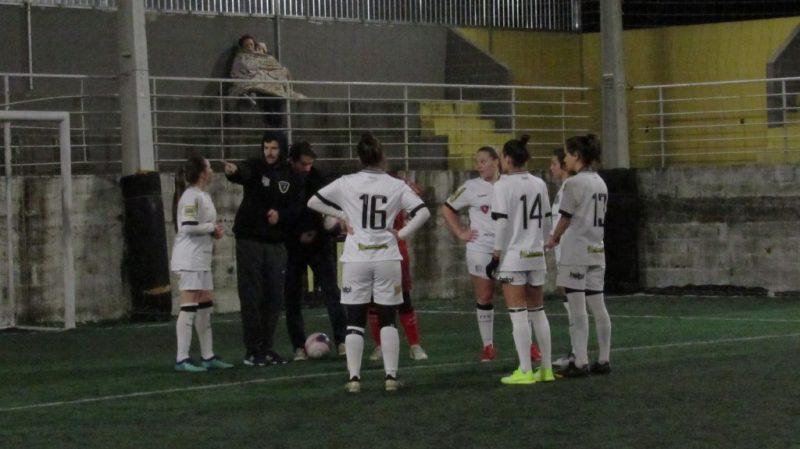 Figueirense/PREC enfrenta a Juventus/DM na final do Municipal de Fut7 Feminino – Patrick Floriani/FFC/Divulgação/ND